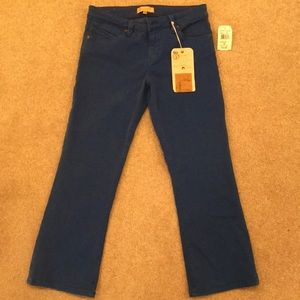 NWT Blue Capri Jeans